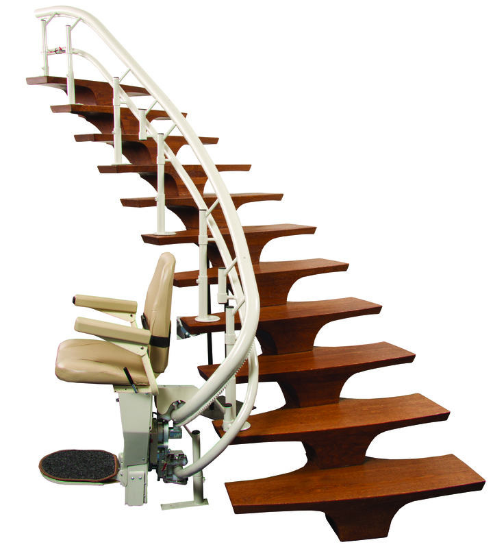 harmar helix san jose ca curved stairchair are Harmar Disabled StairLift Senior Stairchair San Francisco CA Elderly staircase chairlift for seniors