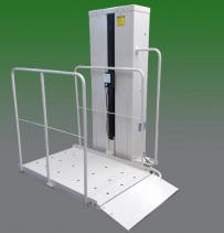 macs pl50 porch lift san francisco vertical platform porchlift