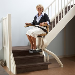 handicare information store dealer showroom stairlifts rembrandt curve stair chair