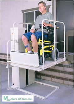 san francisco wheelchair elevators vertical platform lifts